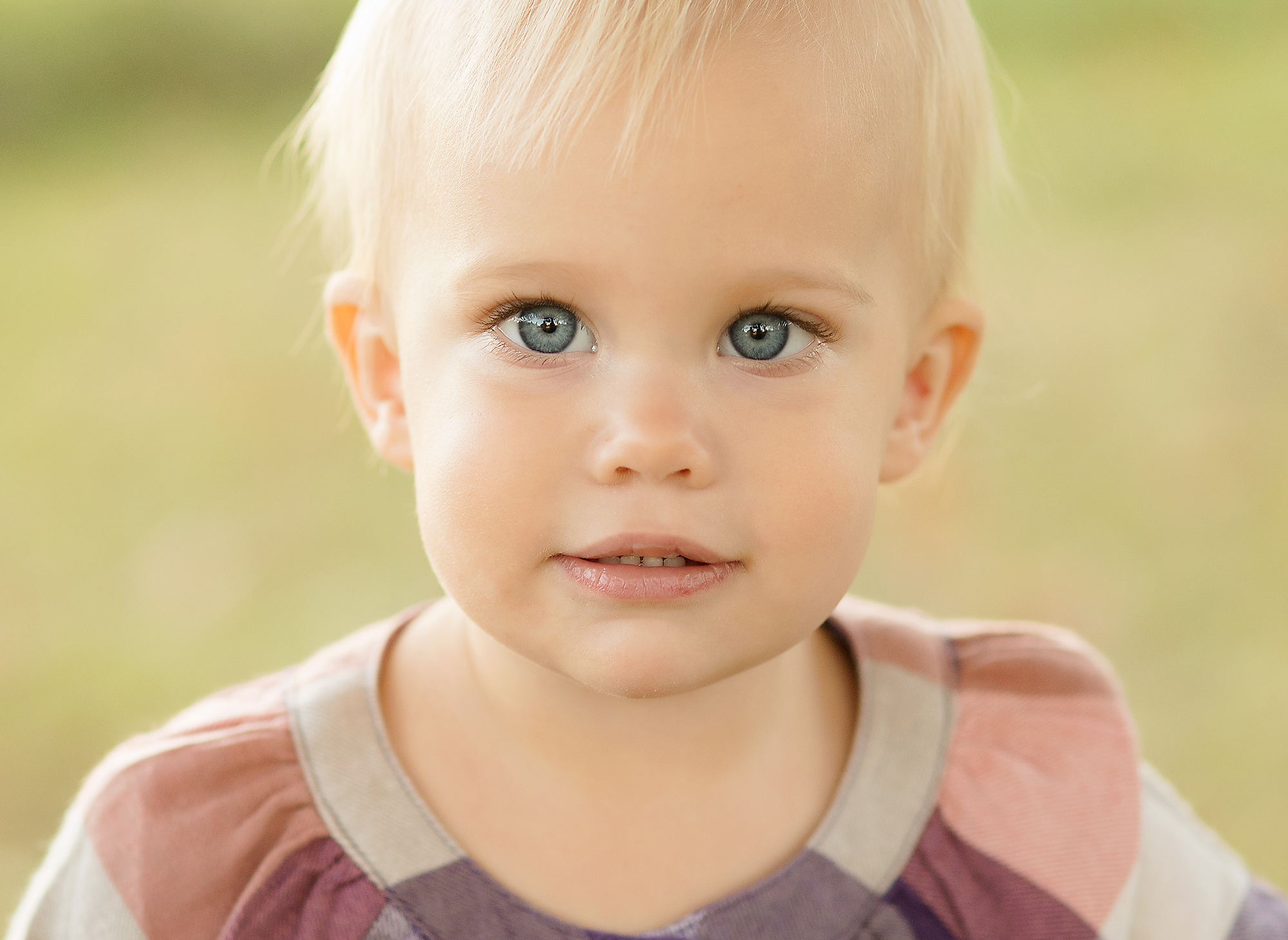 blue eyed beauty 1 year old